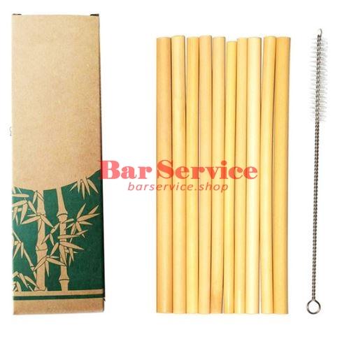 Трубочки бамбуковые 10 шт в Уфе