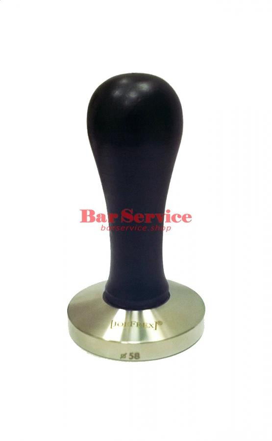 Темпер JoeFrex D58 Elegance черный выпуклый сталь в Уфе