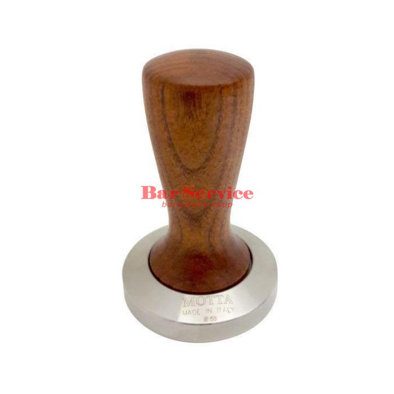 Темпер Мотта SLIM 58 мм. (плоский) рукоятка из дерева в Уфе