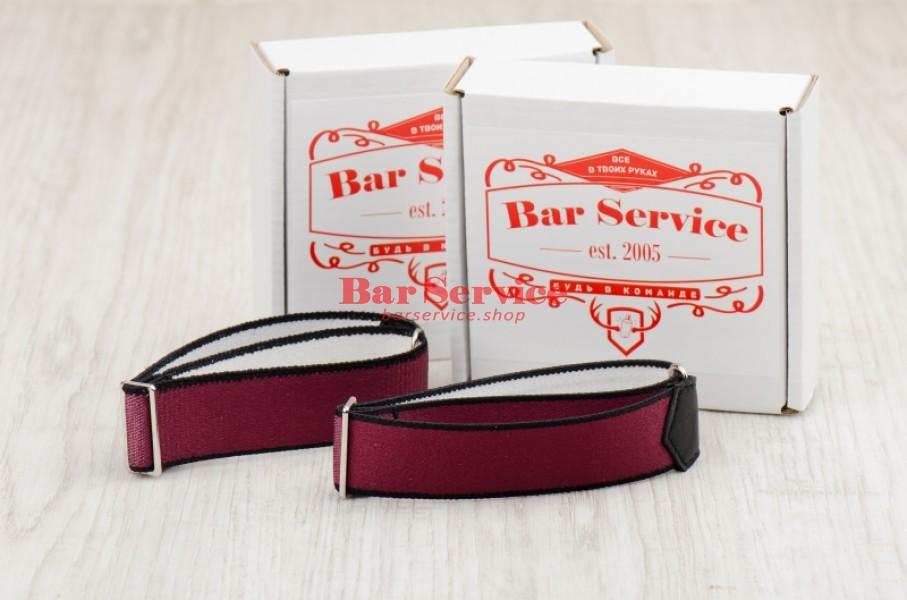 Армбенды, цвет бордо. Bar Service в Уфе