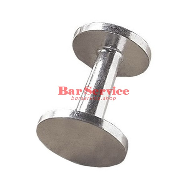 Темпер двойной,  алюминевый 55/50 мм в Уфе
