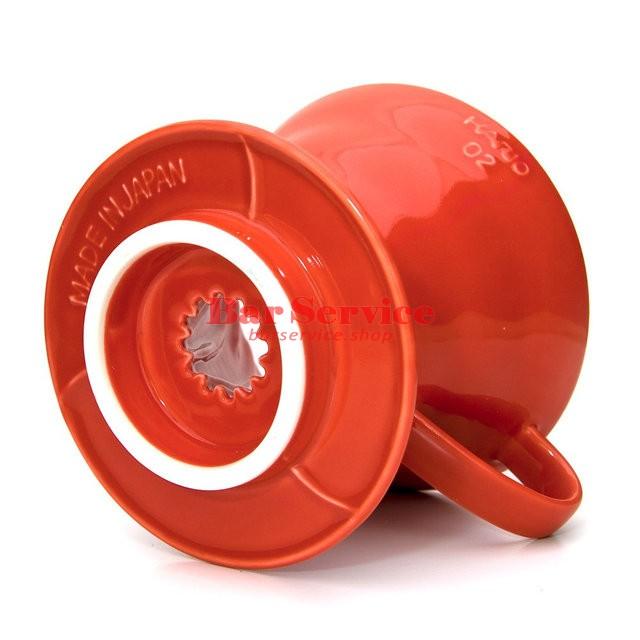 Hario VDC-02R. Воронка керамическая красная. 1-4 чашки в Уфе